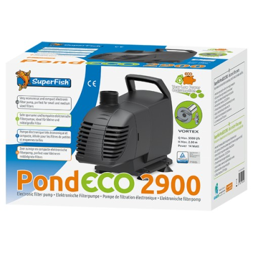 Superfish pond eco 2900 : 3500l/h