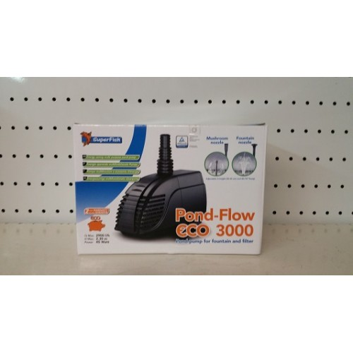 Pompe flow eco 3000 (pompe fontaine)