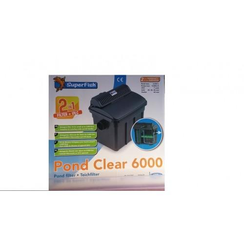 Filtre pond clear 6000l avec UV de 7w