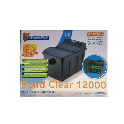 Filtre pond clear avec UV de 13w