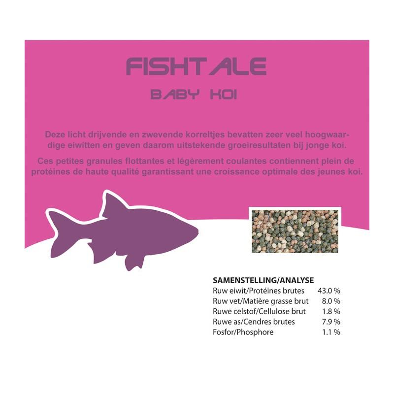 Fishtale baby koi 1.5/2mm en 1.160kg