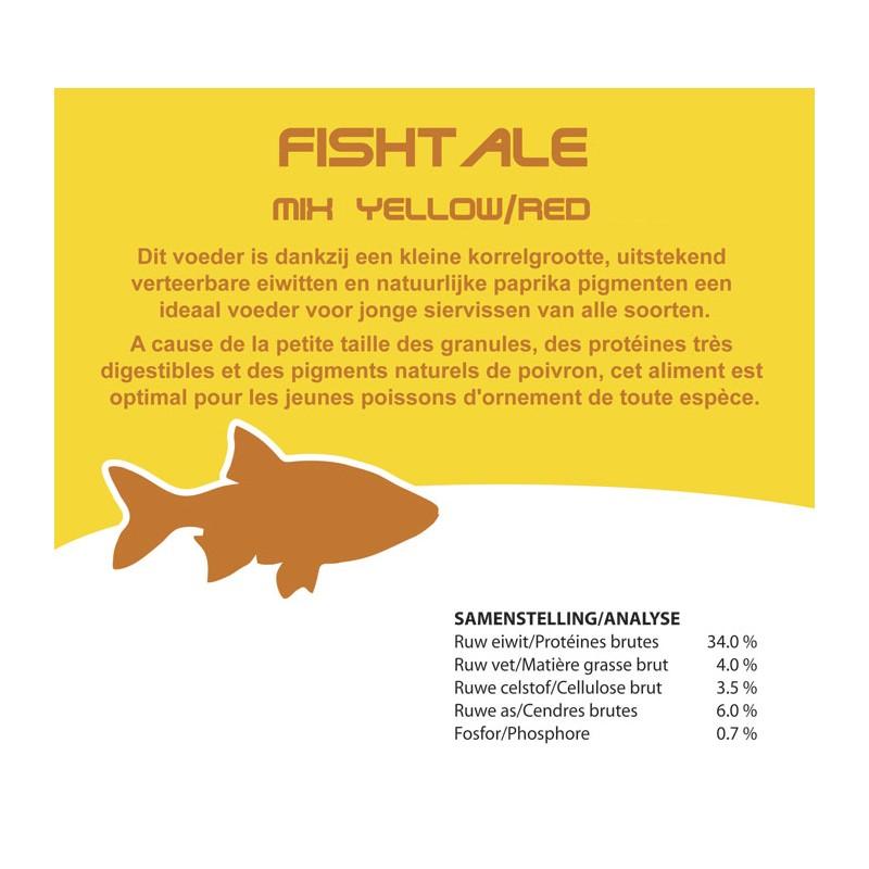 Fishtale red/yellow 3mm en 2.6kg