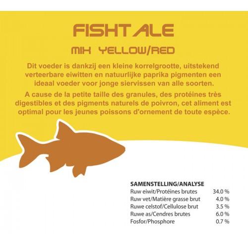 Fishtale red/yellow 3mm en 15kg