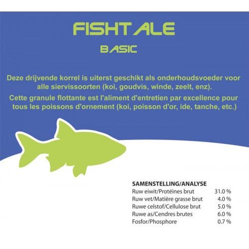 Fishtale basic 4.5mm en 950g