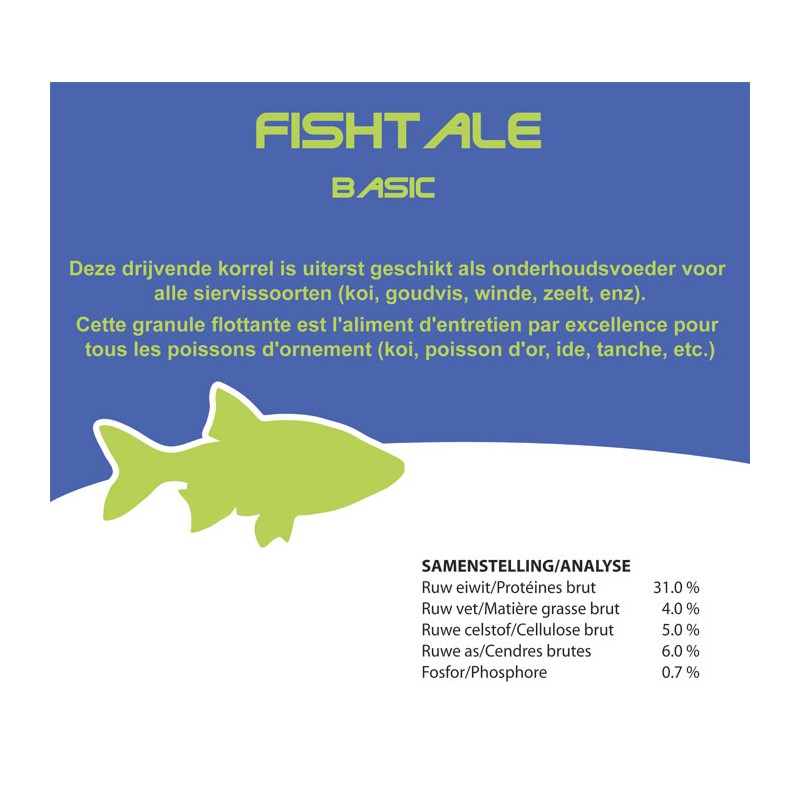 Fishtale basic 4.5mm en 3kg