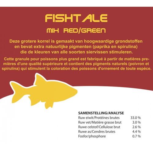 Fishtale red/green 6mm en 820g