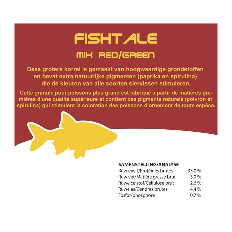 Fishtale red/green 6mm en 2.6kg