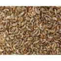 Crevettes séchées et vers à soie